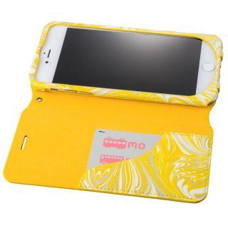 【iPhone8 Plus/7 Plusケース】GRAMAS FEMME Mab PUレザー手帳型ケース イエロー iPhone 8 Plus/7 Plus_2