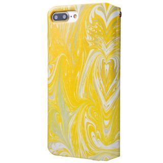 【iPhone8 Plus/7 Plusケース】GRAMAS FEMME Mab PUレザー手帳型ケース イエロー iPhone 8 Plus/7 Plus_3