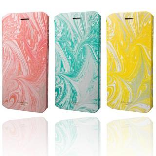 【iPhone8 Plus/7 Plusケース】GRAMAS FEMME Mab PUレザー手帳型ケース イエロー iPhone 8 Plus/7 Plus_9
