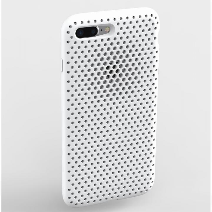 iPhone8 Plus/7 Plus ケース エラストマー AndMesh MESH CASE ホワイト iPhone 8 Plus/7 Plus_0