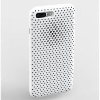 エラストマー AndMesh MESH CASE ホワイト iPhone 8 Plus/7 Plus【11月下旬】