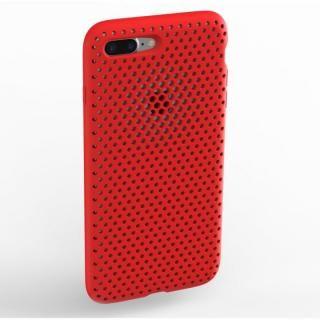 エラストマー AndMesh MESH CASE レッド iPhone 8 Plus/7 Plus【11月下旬】