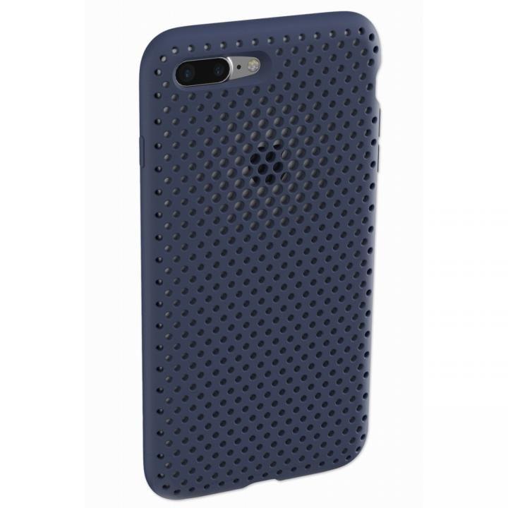 エラストマー AndMesh MESH CASE ネイビー iPhone 8 Plus/7 Plus