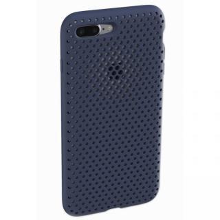 エラストマー AndMesh MESH CASE ネイビー iPhone 8 Plus/7 Plus【1月下旬】