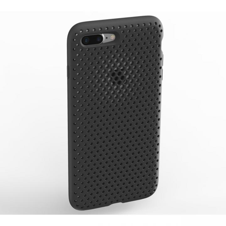 iPhone8 Plus/7 Plus ケース エラストマー AndMesh MESH CASE ブラック iPhone 8 Plus/7 Plus_0