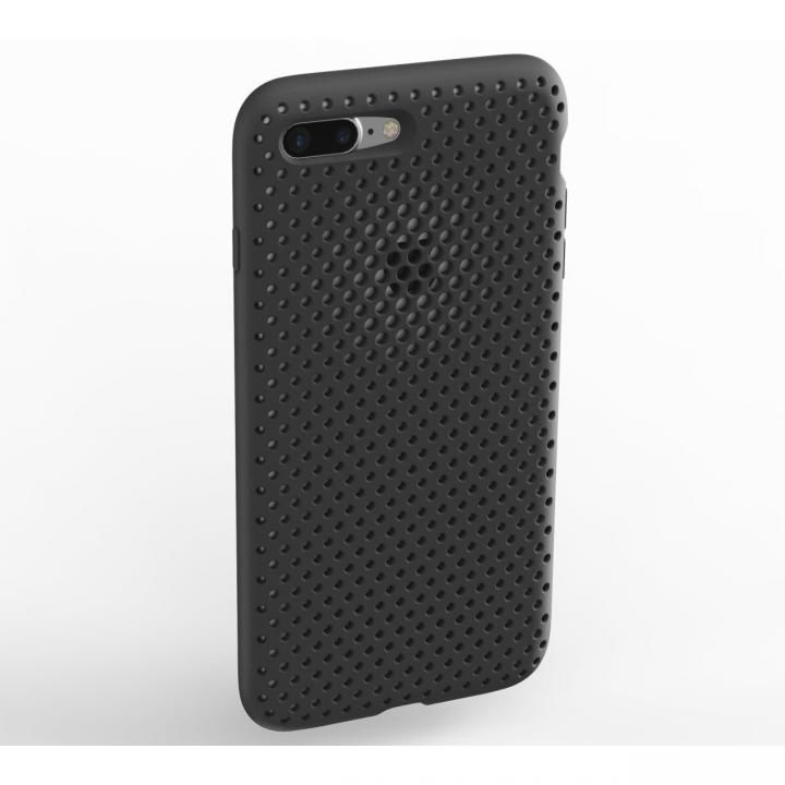 【iPhone8 Plus/7 Plusケース】エラストマー AndMesh MESH CASE ブラック iPhone 8 Plus/7 Plus_0