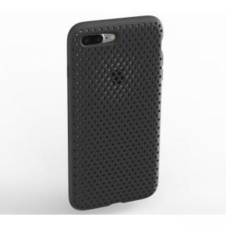 iPhone8 Plus/7 Plus ケース エラストマー AndMesh MESH CASE ブラック iPhone 8 Plus/7 Plus
