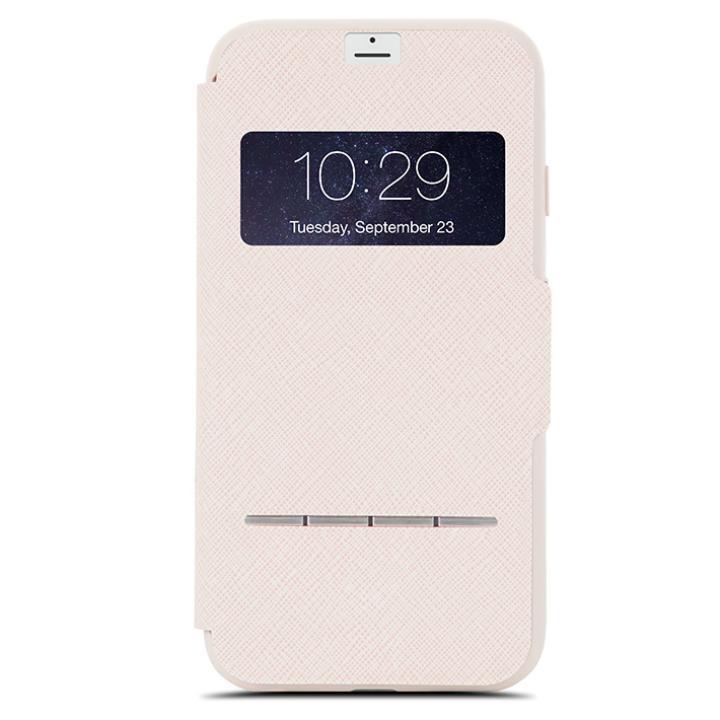 iPhone7 Plus ケース moshi SenseCover 手帳型ケース ベージュ iPhone 7 Plus_0