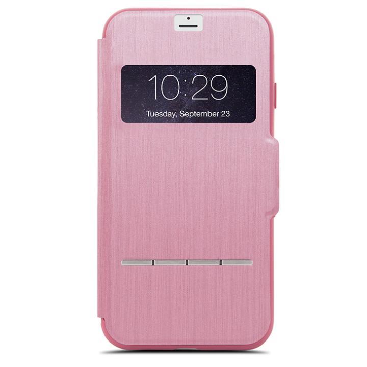 iPhone7 Plus ケース moshi SenseCover 手帳型ケース ローズピンク iPhone 7 Plus_0