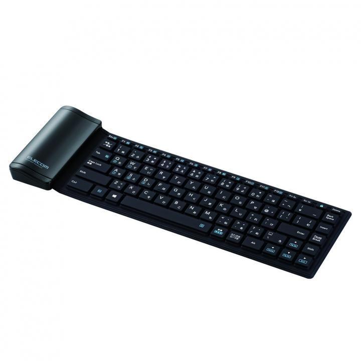 Bluetooth シリコンキーボード ブラック_0