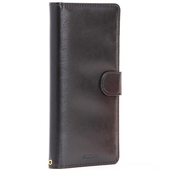PUレザー手帳型ケース BOOK A ブラック Xperia Z5_0