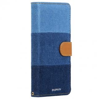 ファブリック手帳型ケース BOOK Fabric 3色デニム柄 Xperia Z5