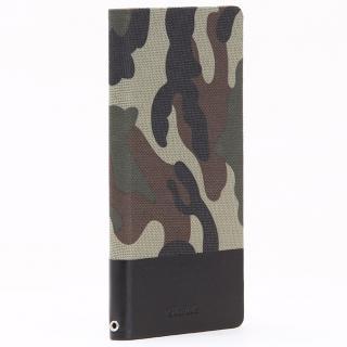 薄型ファブリック手帳型ケース PRIME Fabric カモフラ柄 Xperia Z5