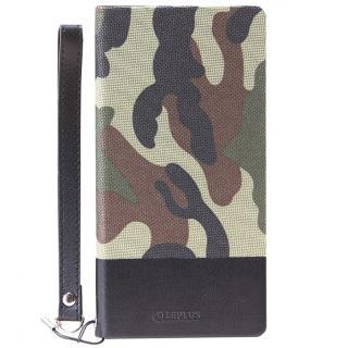 薄型ファブリック手帳型ケース PRIME Fabric カモフラ柄 Xperia Z5_1