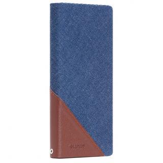 薄型ファブリック手帳型ケース PRIME Fabric デニム柄 Xperia Z5