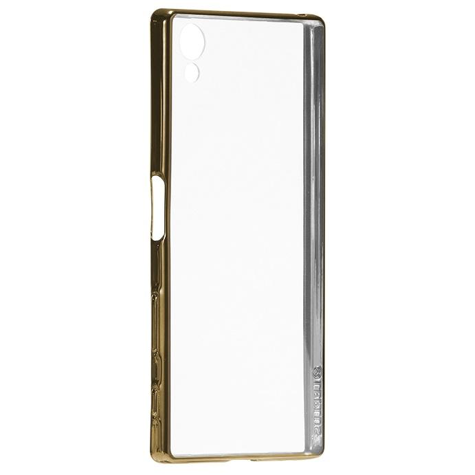超極薄TPUメタリックケース ZERO SOFT METAL ゴールド Xperia Z5