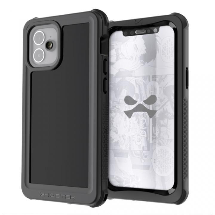 ノーティカル3 IP68/防水/防雪/防塵ケース ブラック iPhone 12_0