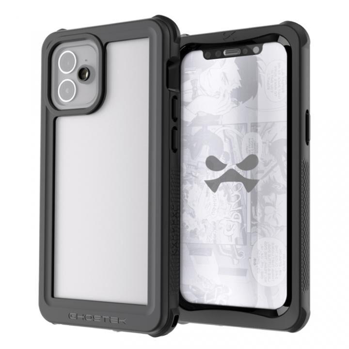 ノーティカル3 IP68/防水/防雪/防塵ケース クリア iPhone 12_0