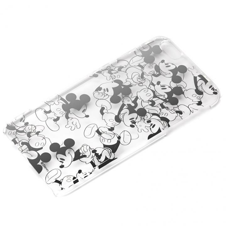 UNISTYLE 箔押しクリアケース ミッキーマウス iPhone 6s Plus/6 Plus