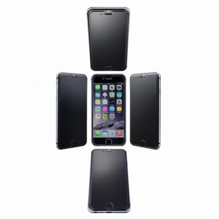 iPhone6s/6 フィルム [0.33mm]GRAMAS 360°覗き見防止強化ガラス iPhone 6s/6 EZig付き_0