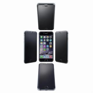iPhone6s/6 フィルム [0.33mm]GRAMAS 360°覗き見防止強化ガラス iPhone 6s/6 EZig付き