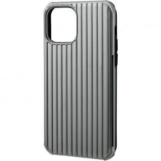 iPhone 12 / iPhone 12 Pro (6.1インチ) ケース GRAMAS COLORS Rib-Slide Hybrid シェルケース Gray iPhone 12/iPhone 12 Pro