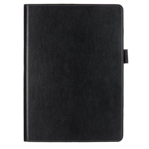 ブックスタイルケース レザータッチ  iPad Air ブラック_0