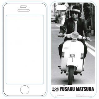 iPhone5用MUSIC SMARTPHONE PROTECTOR 松田優作5