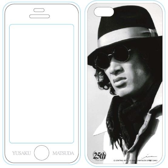 【iPhone SE/5s/5ケース】iPhone5用MUSIC SMARTPHONE PROTECTOR 松田優作6_0