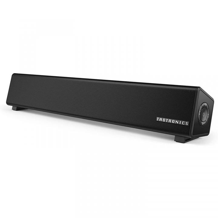 TaoTronics TT-SK025 PCスピーカー Bluetooth 10W出力 小型 サウンドバー_0