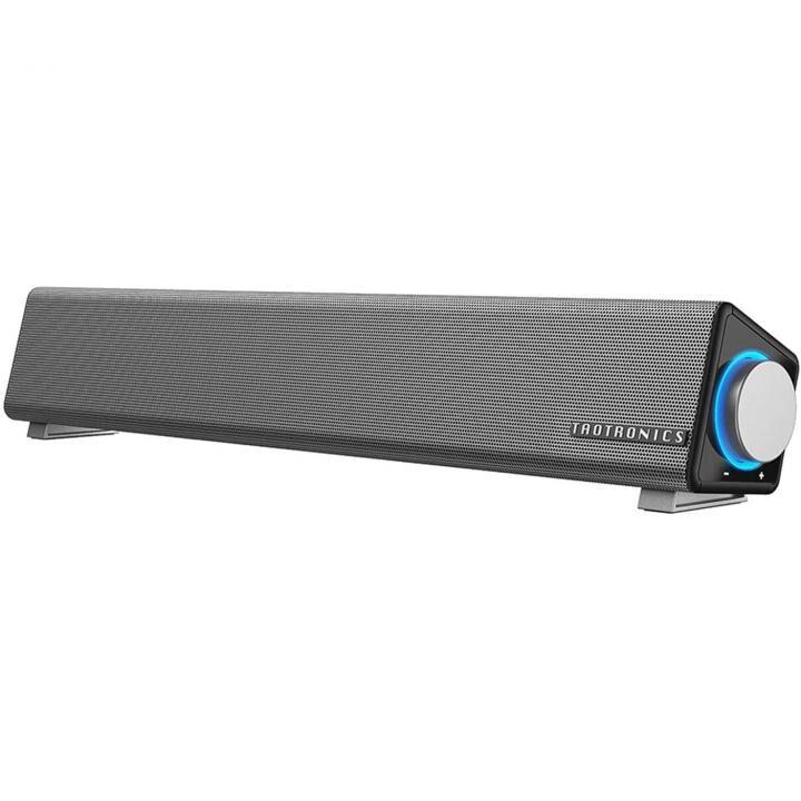 TaoTronics TT-SK018 パソコン サウンドバー USB給電 45mm ライバー_0