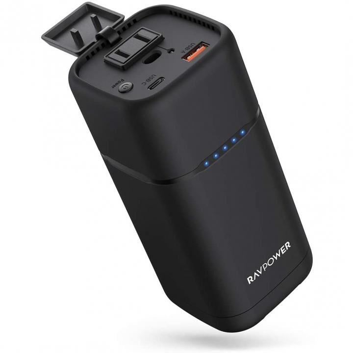RAVPower RP-PB054pro モバイルバッテリー 20000mAh 80W AC出力 PD 30W_0
