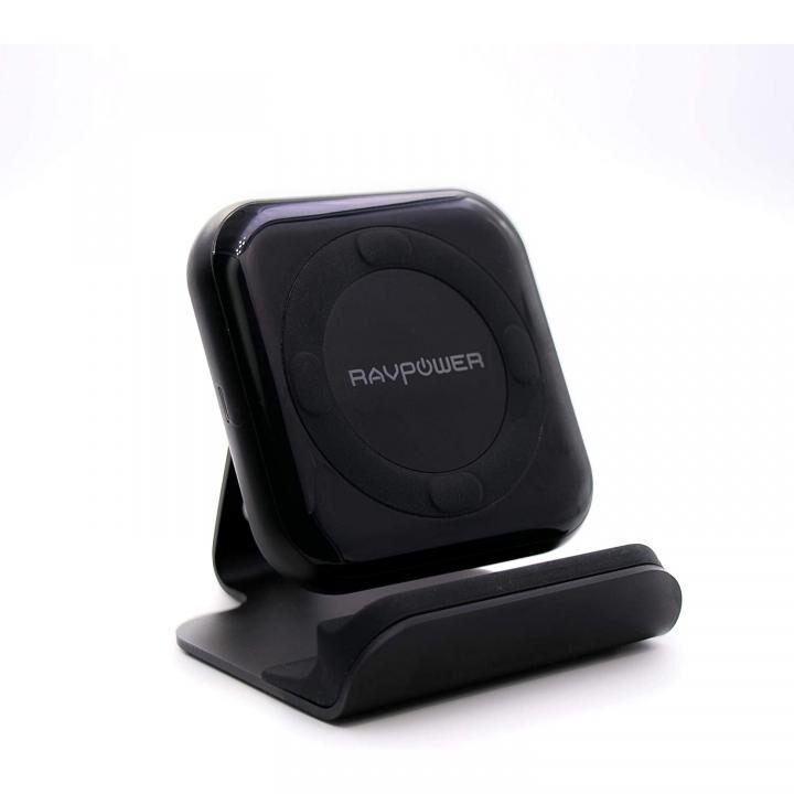 RAV Power RP-PC070 10W Qiワイヤレス充電器 高速充電 スタンド付_0