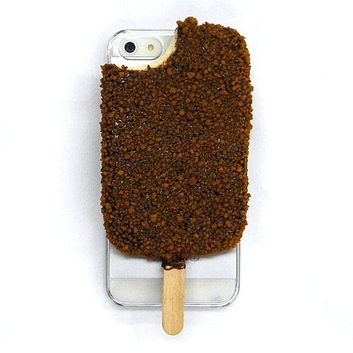 iPhone SE/5s/5 ケース iPhone SE/5s/5 アイスフォンケース(かじりクランチアイス)_0