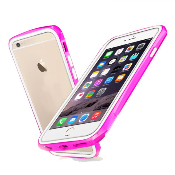 【iPhone6ケース】工具不要 かんたん着脱バンパー ODOYO BLADE EDGE ピンク iPhone 6_0