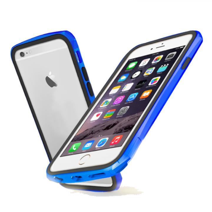 【iPhone6ケース】工具不要 かんたん着脱バンパー ODOYO BLADE EDGE ブルー iPhone 6_0