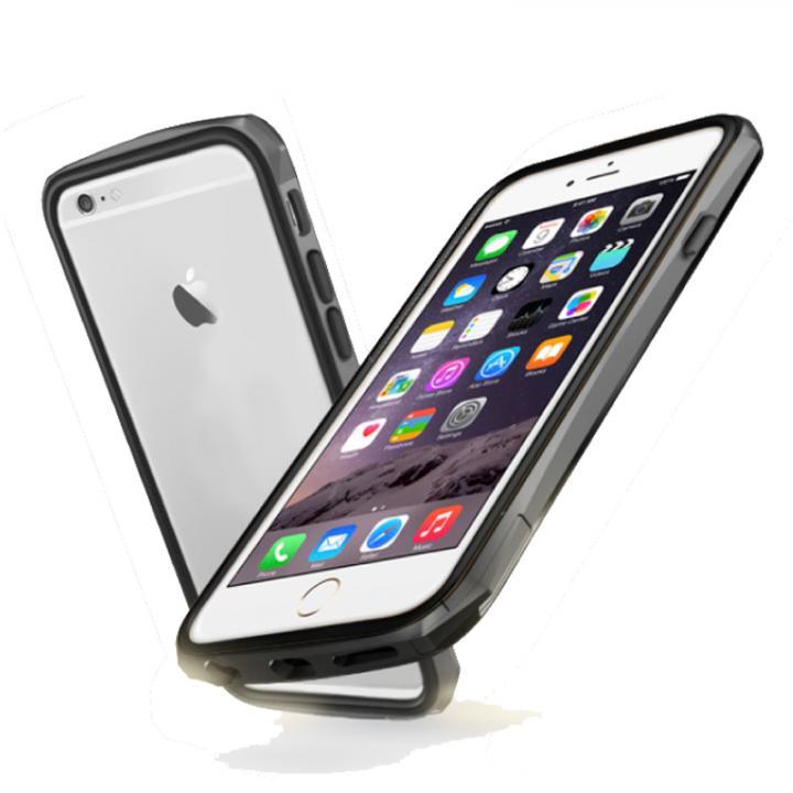iPhone6 ケース 工具不要 かんたん着脱バンパー ODOYO BLADE EDGE チタニウム iPhone 6_0