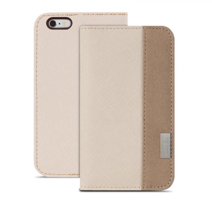 iPhone6s Plus/6 Plus ケース moshi Overture 手帳型ケース ベージュ iPhone 6s Plus/6 Plusケース_0