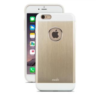 【iPhone6s Plus/6 Plusケース】moshi iGlaze Armour ゴールド iPhone 6s Plus/6 Plusケース