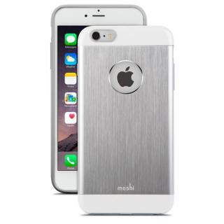 moshi iGlaze Armour シルバー iPhone 6s Plus/6 Plusケース