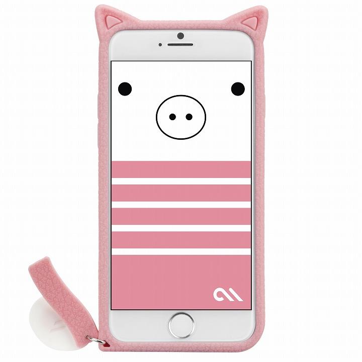 【iPhone6ケース】Creatures シリコンケース こぶた iPhone 6ケース_0