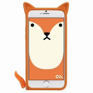 【iPhone6s/6ケース】Creatures シリコンケース きつね iPhone 6s/6ケース