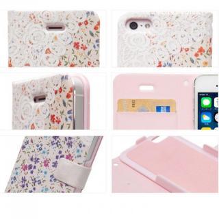 【iPhone SE/5s/5ケース】iPhone SE/5s/5 手帳型ケース Blossom Diary オレンジ_1