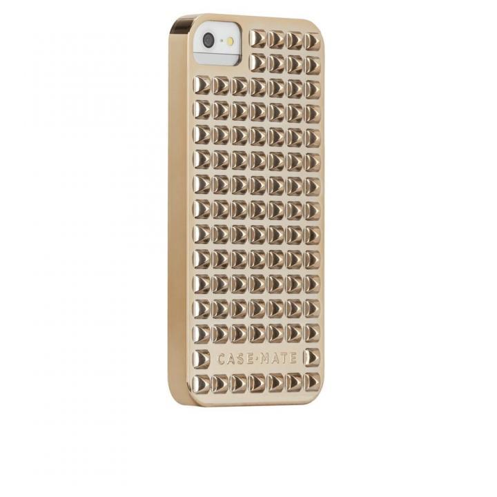 iPhone SE/5s/5 ケース iPhone SE/5s ベアリーゼア スタッズ ゴールド_0