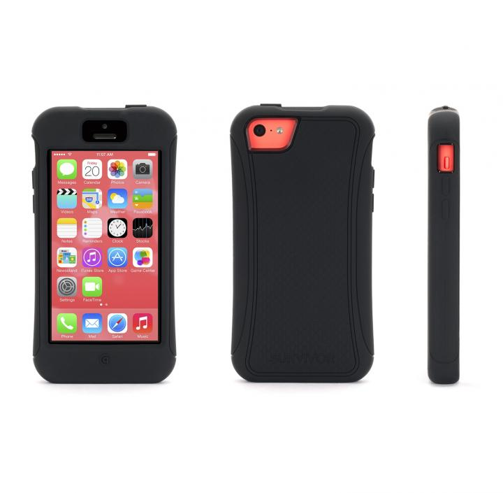 SurvivorSlim iPhone 5c-BLK BLK