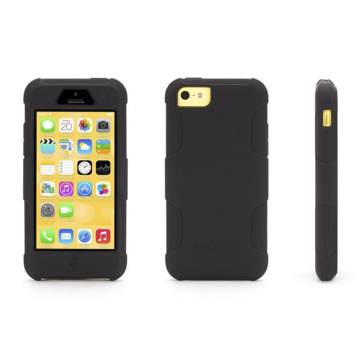 SurvivorSkin iPhone 5c-BLK