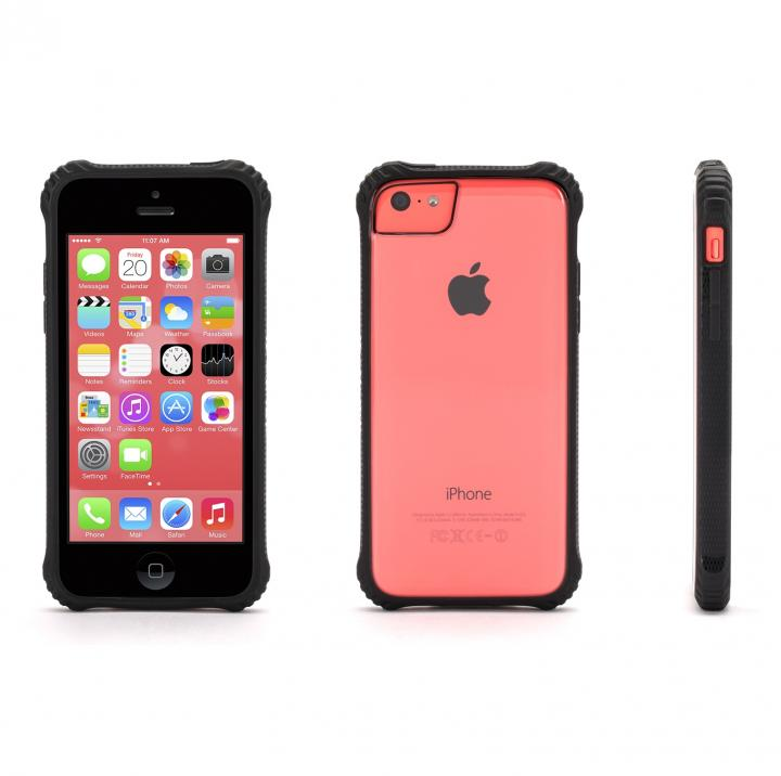 SurvivorClear iPhone 5c-BLK CLR_0