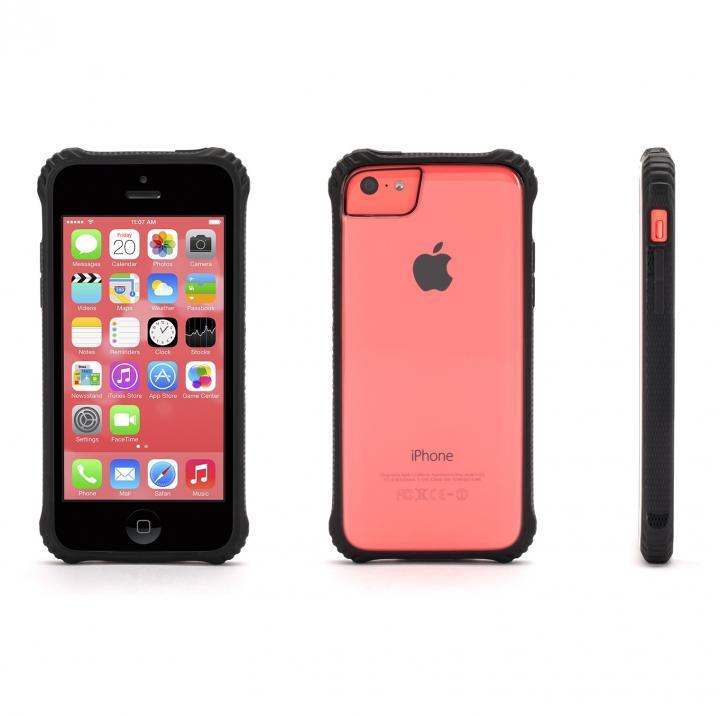 SurvivorClear iPhone 5c-BLK CLR_0