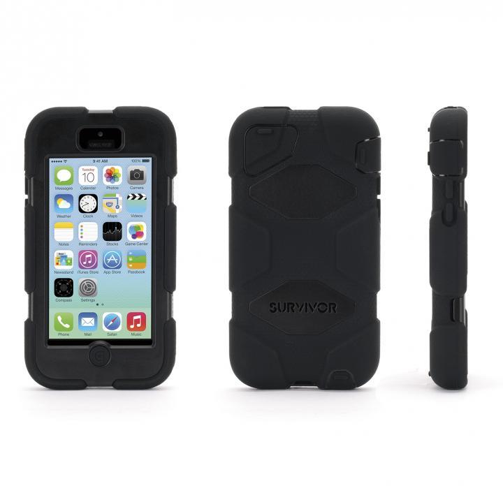 Survivor iPhone 5c-BLK BLK BLK