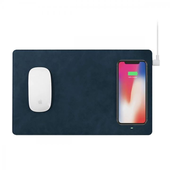 GAZEPAD PRO Qi対応ワイヤレス充電機能付きマウスパッド ブルー_0